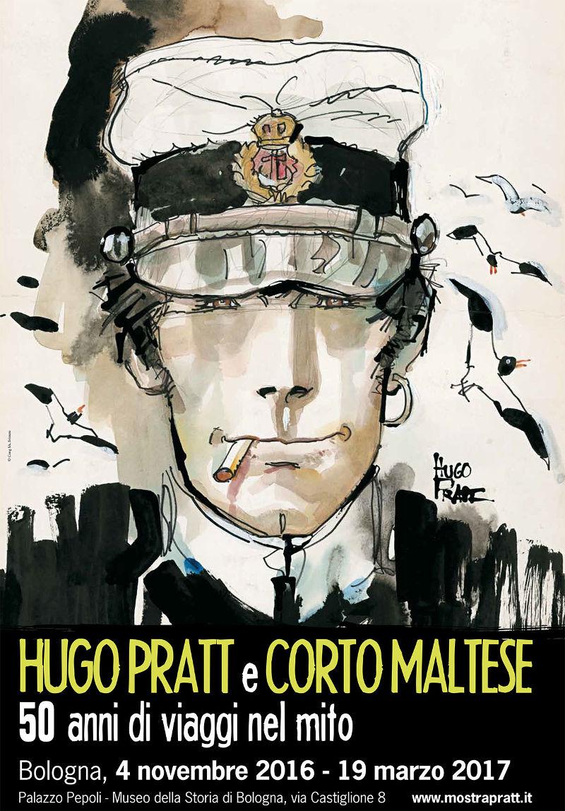 Hugo Pratt y Corto Maltés: 50 años de viajes en el mito
