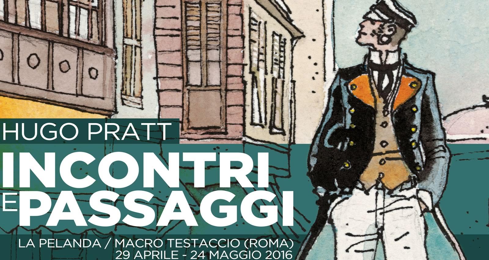 Hugo Pratt al MACRO di Roma