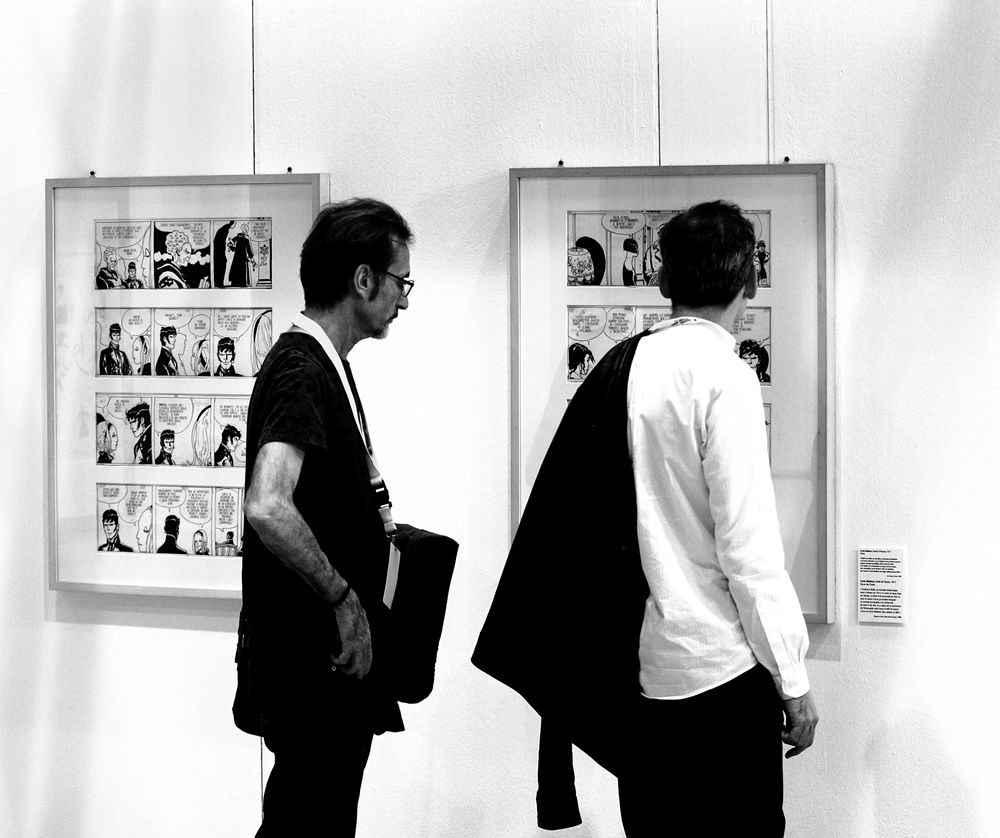 Incontri e passaggi: Juan Diaz Canales e Rubén Pellejero in visita la mostra