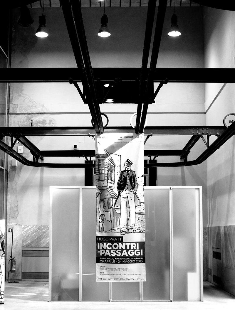 Incontri e passaggi: l'ingresso della mostra