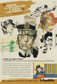 L'arte di Hugo Pratt su La Repubblica