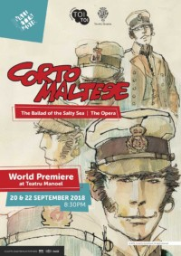 Corto Maltese the Ballad of the Salty Sea