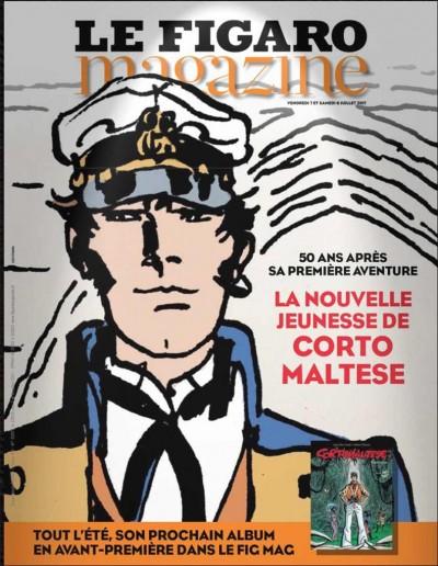 Corto Maltese. Equatoria: prépublication dans le Figaro Magazine