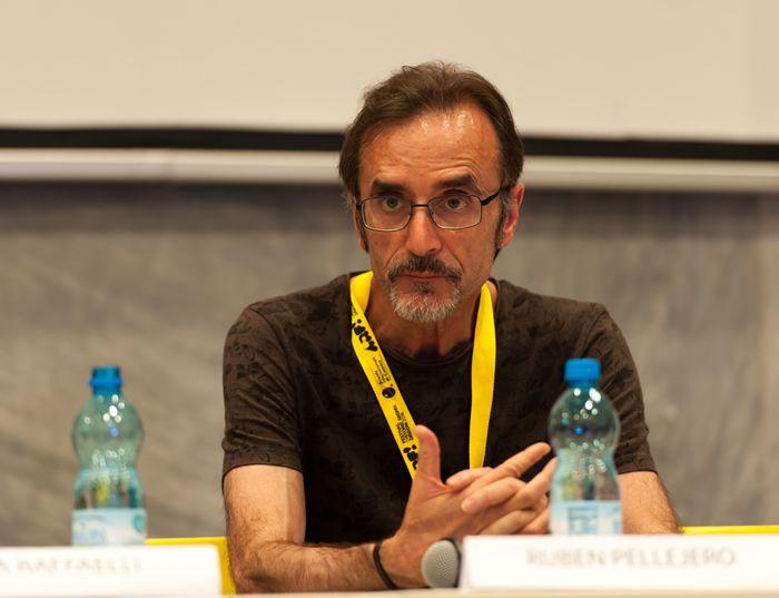 Hugo Pratt, Incontri e passaggi al Macro di Roma 2016 - Ruben Pellejero