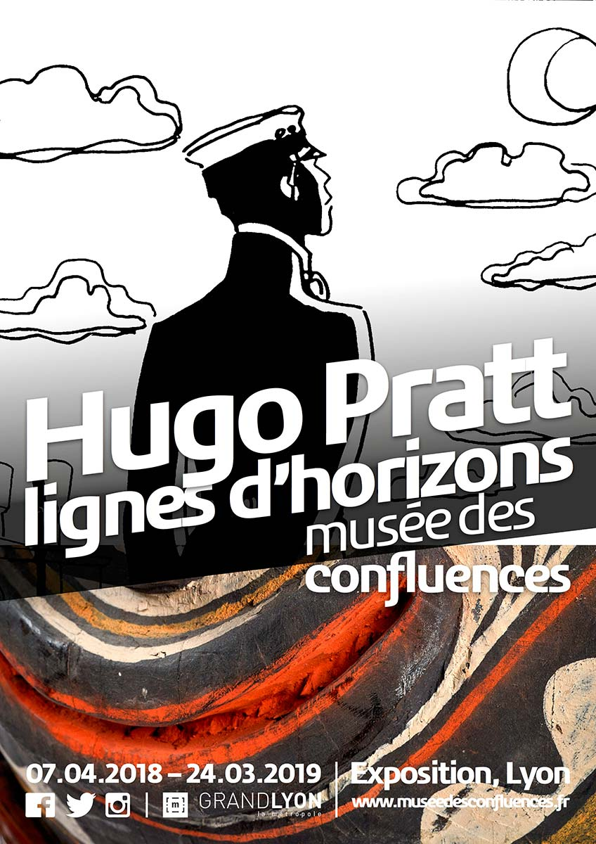 Exhibit Hugo Pratt - Lignes d'horizons