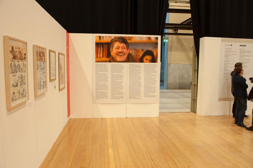 Hugo Pratt, Incontri e passaggi al Macro di Roma 2016 - La mostra