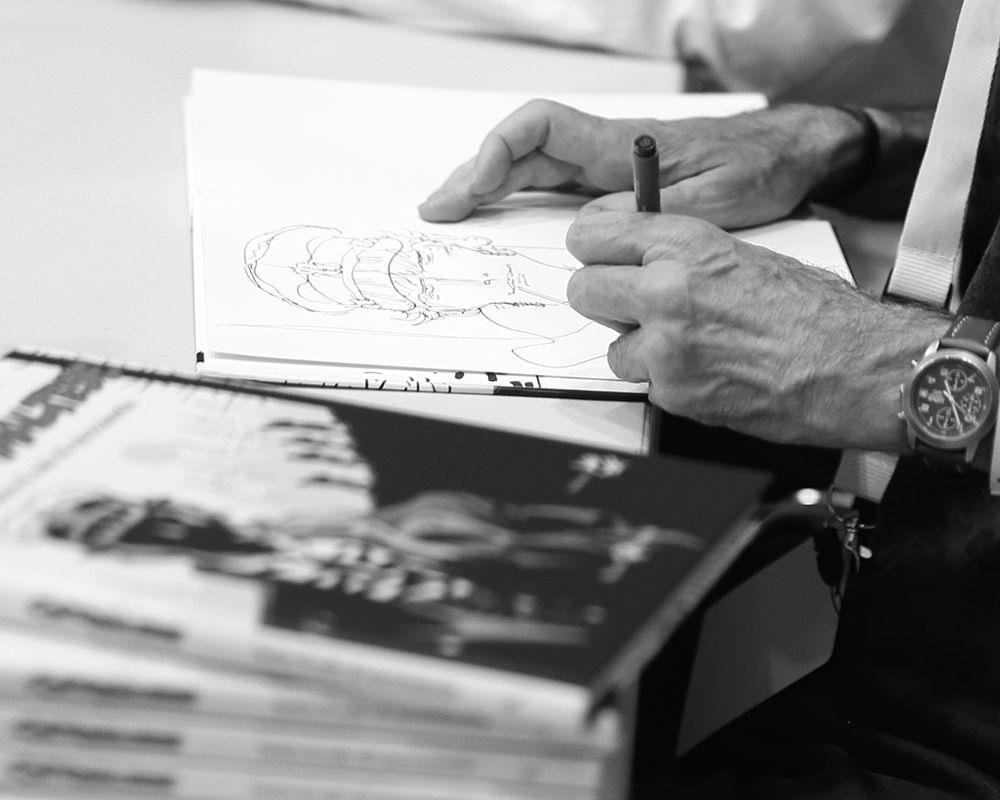 Incontri e passaggi: Rubén Pellejero dedica disegnata su Sotto il sole di mezzanotte