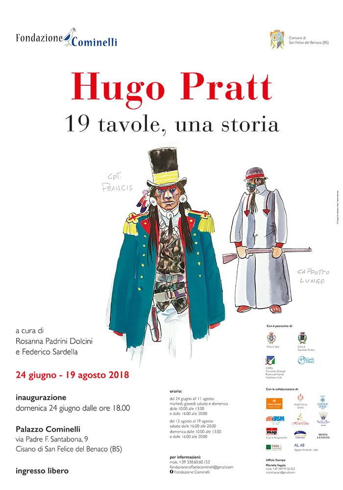 Hugo Pratt - Fondazione Cominelli 2018
