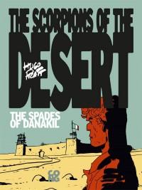 copertina del volume 3 dell'eBook in lingua inglese de Gli Scorpioni del deserto