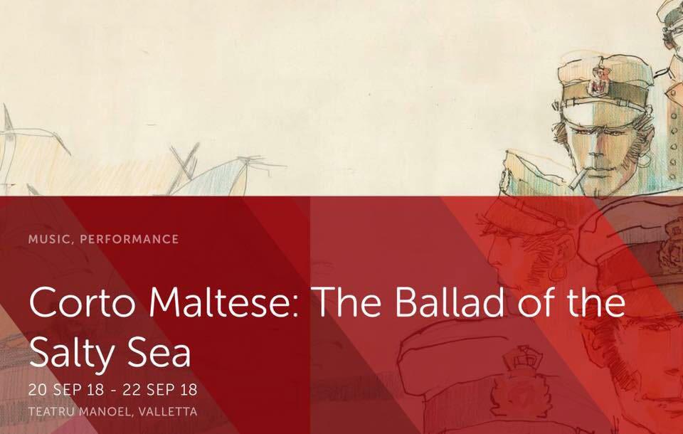 Corto Maltese evento Malta 2018