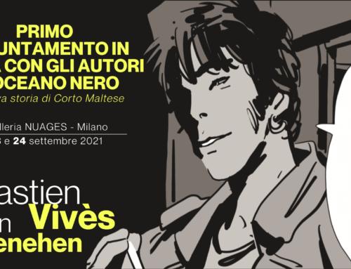 Bastien Vivés e Martin Quenehen a Milano il 23 settembre per la prima presentazione nazionale di Oceano Nero