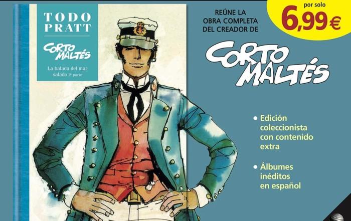 Corto Maltese Todo Pratt 2019