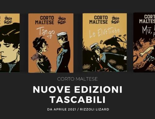 Corto Maltese, dal 13 aprile in libreria gli ultimi 4 volumi delle nuove edizioni tascabili