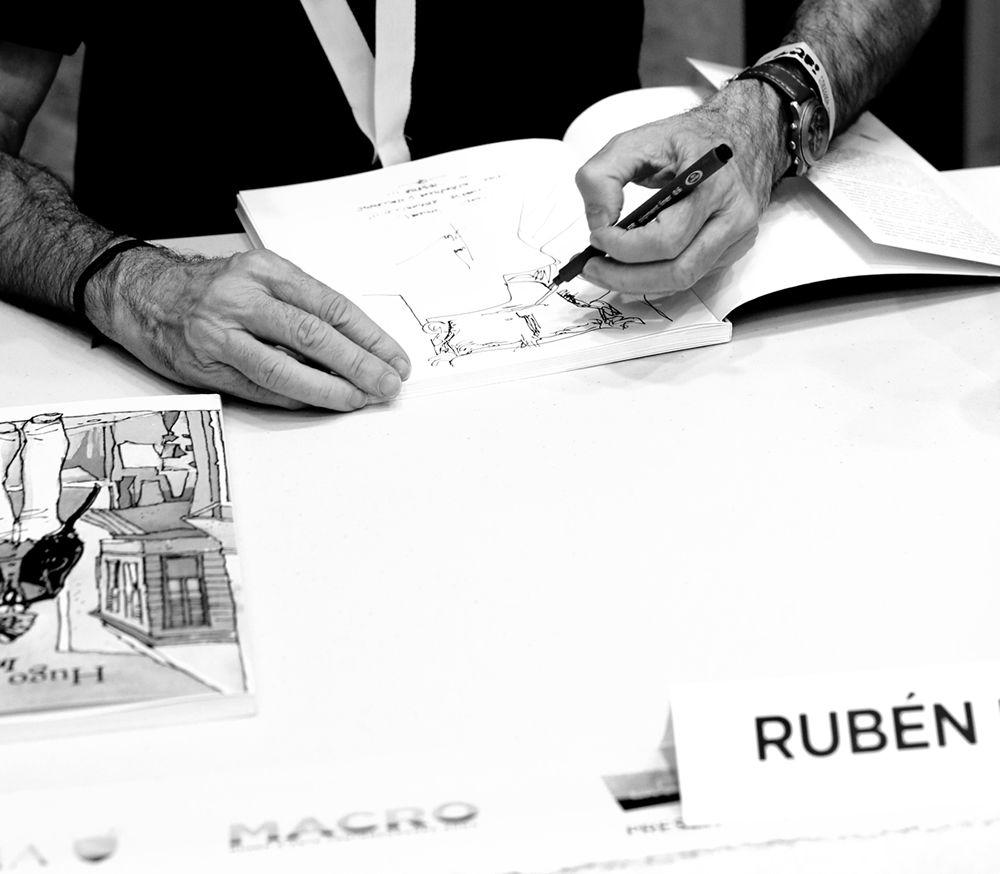 Incontri e passaggi: Rubén Pellejero alla fine del dibattito