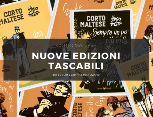 Corto Maltese, le nuove edizioni tascabili di Rizzoli-Lizard