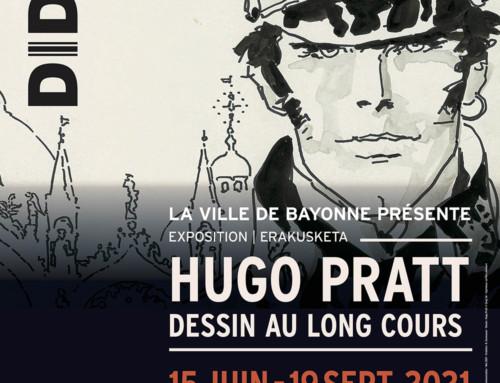 Hugo Pratt, Dessin au long cours: apre oggi la mostra a Bayonne