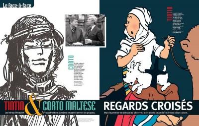 Tintin & Corto Maltese, regards croisés